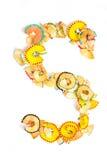 Foto de la letra S Fotografía de archivo libre de regalías