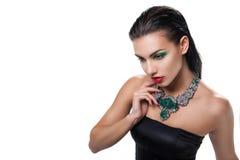 Foto de la moda de la mujer magnífica joven fotos de archivo libres de regalías