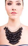 Foto de la moda de la señora hermosa Fotos de archivo libres de regalías