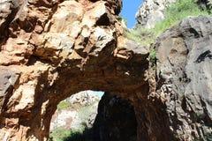 Foto de la montaña de la roca Foto de archivo