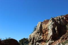 Foto de la montaña de la roca Fotos de archivo libres de regalías
