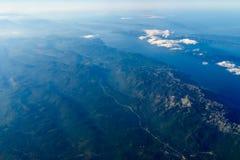 Foto de la mucha altitud de la tierra del planeta Fotos de archivo