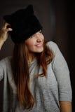 Foto de la mujer joven hermosa Fotografía de archivo