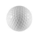 Foto de la pelota de golf aislada. Fotografía de archivo libre de regalías