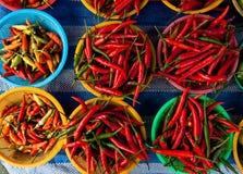 Foto de la pimienta de chile rojo Fotografía de archivo libre de regalías