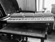 Foto de la restauración del piano Foto de archivo