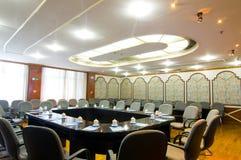Foto de la sala de conferencias del hotel Imagenes de archivo