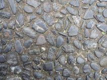 Foto de la textura de la pared de piedra Fotografía de archivo