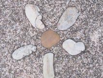 Foto de la textura de la pared de piedra Imagen de archivo