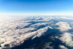Foto de la tierra a partir del 10 los 000m sobre la tierra Foto de archivo libre de regalías