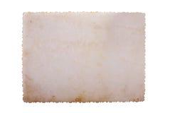Foto de la vendimia salvada con el camino de recortes Imagen de archivo libre de regalías