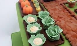 Foto de las mini verduras hechas del azúcar fotos de archivo libres de regalías