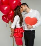 Foto de las tarjetas del día de San Valentín Fotos de archivo