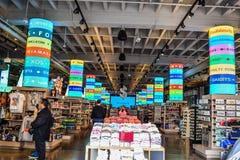 Foto de los ordenar de la tienda, tienda de souvenirs Fotografía de archivo