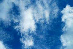 Foto de nuvens macias Imagens de Stock Royalty Free