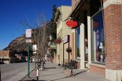 Foto de Ouray, Colorado fotos de archivo
