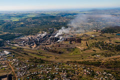 Foto de papel del aire de la fábrica Imagenes de archivo