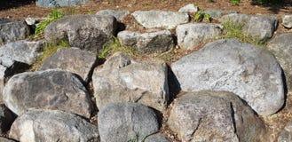 Foto de piedra grande de la textura y del fondo Textura foto de archivo