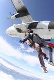 Foto de Skydiving. Fotos de Stock Royalty Free