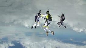 Foto de Skydiving video estoque