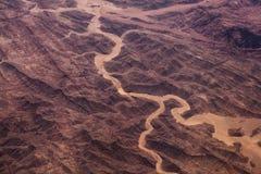 Foto de um deserto Imagem de Stock Royalty Free