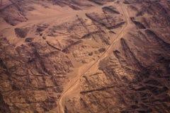 Foto de um deserto Fotos de Stock Royalty Free
