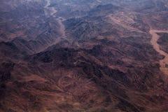 Foto de um deserto Foto de Stock