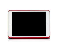 Foto de um iPad do tipo mini Imagens de Stock Royalty Free