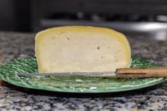 Foto de um queijo português delicioso imagem de stock royalty free