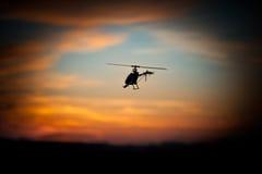 Foto de um helicóptero de RC Foto de Stock Royalty Free