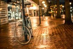 Foto de uma bicicleta foto de stock