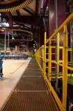 Interior da construção industrial fotos de stock royalty free
