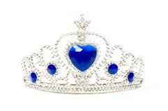 Foto de uma coroa da tiara Fotos de Stock Royalty Free