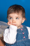 Foto de uma criança nova fotografia de stock royalty free