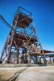 Foto de uma mina subterrânea abandonada imagem de stock royalty free