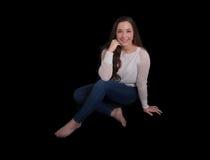 Foto de umas pessoas de 18 anos Imagem de Stock Royalty Free
