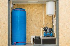 Foto de un Autonomous System del abastecimiento de agua imagen de archivo