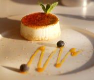 Foto de un pastel de queso delicioso Foto de archivo libre de regalías