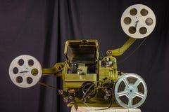 Foto de un proyector de película viejo foto de archivo libre de regalías