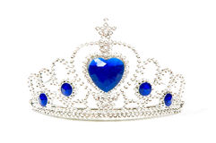 Foto de una corona de la tiara fotos de archivo libres de regalías
