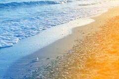 Foto de una onda azul hermosa imágenes de archivo libres de regalías
