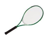 Foto de una raqueta de tenis imagen de archivo