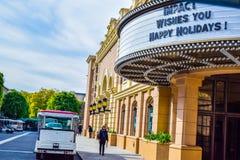 Foto de Warner Bros Viaje Hollywood, opiniones exteriores del estudio Warner Brothers Studios Buildings Fotos de archivo