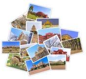 Foto dei collage dell'India della città di Bangalore Fotografia Stock