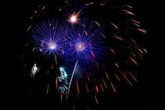 Foto dei fuochi d'artificio Immagine Stock Libera da Diritti