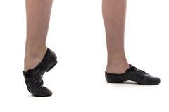 Foto dei piedi del ballerino Immagine Stock Libera da Diritti