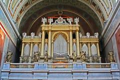 Foto del órgano Imagen de archivo