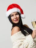 Foto del Año Nuevo de la morenita Foto de archivo