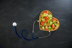 Foto del alto ángulo de las verduras frescas deliciosas foto de archivo libre de regalías