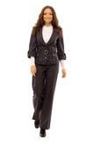 Foto del businesswoma andante Immagini Stock Libere da Diritti